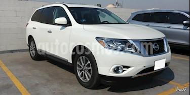 Foto venta Auto usado Nissan Pathfinder 5p Advance V6/3.5 Aut (2015) color Blanco precio $309,000