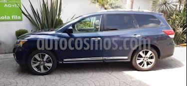 Nissan Pathfinder 5p Exclusive V6/3.5 Aut usado (2013) color Azul precio $248,700