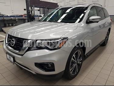 Foto venta Auto usado Nissan Pathfinder 5p Exclusive V6/3.5 Aut (2018) color Plata precio $585,000