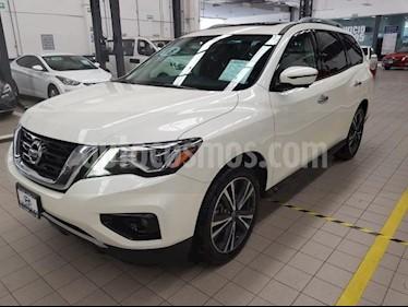Foto venta Auto usado Nissan Pathfinder 5p Exclusive V6/3.5 Aut (2018) color Blanco precio $645,000