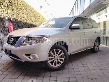 Foto venta Auto usado Nissan Pathfinder 5p Sense V6/3.5 Aut (2015) color Plata precio $285,000