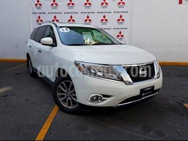 Foto venta Auto usado Nissan Pathfinder Advance (2014) color Blanco precio $295,000