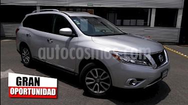Foto venta Auto Seminuevo Nissan Pathfinder Advance (2014) color Plata precio $299,000