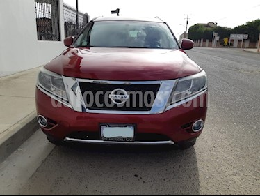 Nissan Pathfinder Advance usado (2014) color Rojo precio $260,000