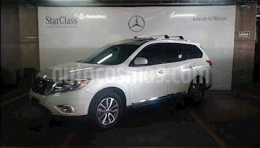 Foto venta Auto usado Nissan Pathfinder Advance (2013) color Blanco precio $259,000