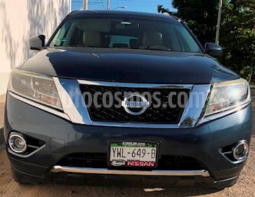 Foto venta Auto Seminuevo Nissan Pathfinder Advance (2013) color Azul precio $230,000