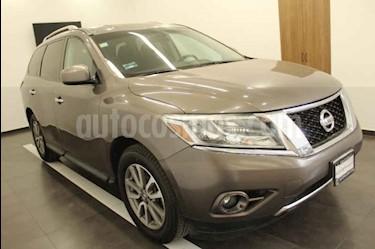 Foto venta Auto usado Nissan Pathfinder Advance (2014) color Gris precio $249,000