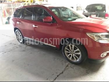 Nissan Pathfinder Advance usado (2016) color Rojo precio $379,999