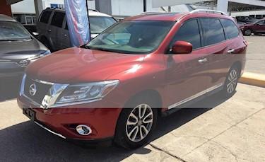 Foto venta Auto usado Nissan Pathfinder Advance (2015) color Rojo precio $355,000