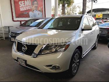 Foto Nissan Pathfinder Advance usado (2015) color Blanco precio $329,000