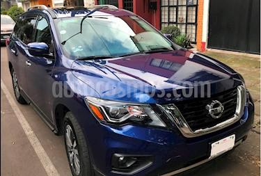 Nissan Pathfinder Advance usado (2018) color Azul Metalico precio $555,000