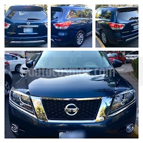 Foto Nissan Pathfinder Advance usado (2014) color Azul precio $285,000