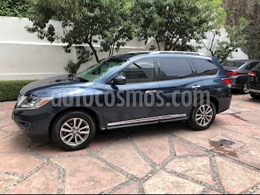 Nissan Pathfinder Advance usado (2013) color Azul precio $220,000