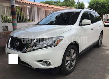 Nissan Pathfinder Exclusive usado (2015) color Blanco precio $60.000.000