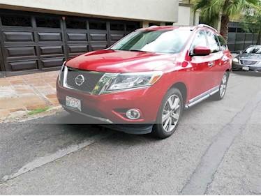 Foto venta Auto usado Nissan Pathfinder Exclusive 4x4 (2015) color Rojo precio $301,000