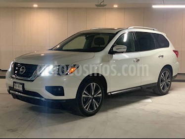 Foto venta Auto usado Nissan Pathfinder Exclusive 4x4 (2018) color Blanco precio $650,000