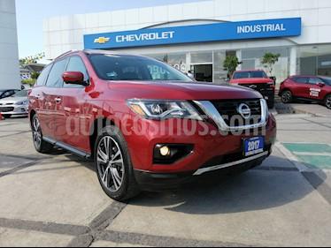 Foto Nissan Pathfinder Exclusive 4x4 usado (2017) color Rojo precio $452,000