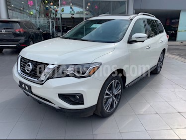 Foto Nissan Pathfinder Exclusive 4x4 usado (2018) color Blanco precio $700,000