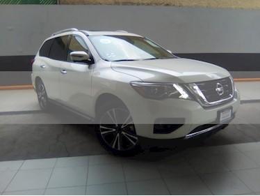 Foto venta Auto usado Nissan Pathfinder Exclusive 4x4 (2018) color Blanco precio $649,000