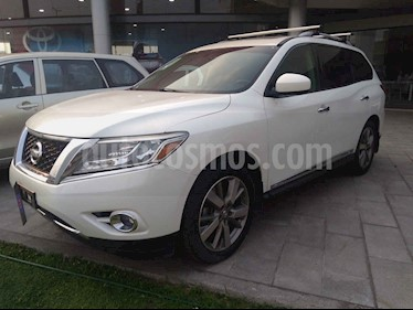 Foto venta Auto usado Nissan Pathfinder Exclusive 4x4 (2015) color Blanco precio $315,000