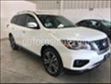 Nissan Pathfinder Exclusive 4x4 usado (2017) color Blanco precio $495,000