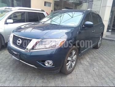 Foto venta Auto usado Nissan Pathfinder Exclusive 4x4 (2013) color Beige precio $240,000