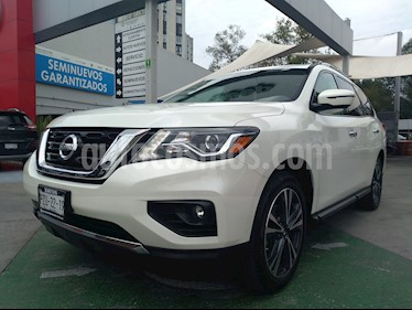 Nissan Pathfinder Exclusive 4x4 usado (2017) color Blanco precio $463,500