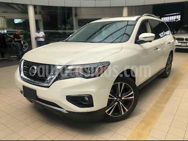 Foto venta Auto usado Nissan Pathfinder Exclusive 4x4 (2017) color Blanco precio $495,000