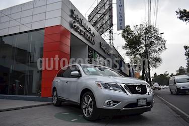 Foto venta Auto Seminuevo Nissan Pathfinder Exclusive 4x4 (2015) color Plata precio $395,000