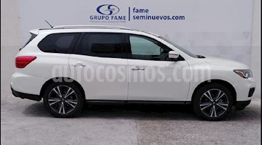 Foto venta Auto usado Nissan Pathfinder Exclusive 4x4 (2018) color Blanco precio $590,000