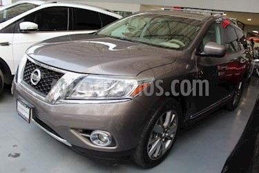 Foto venta Auto Seminuevo Nissan Pathfinder Exclusive 4x4 (2014) color Marron precio $349,000