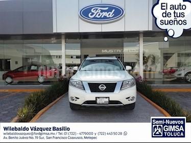 Foto venta Auto usado Nissan Pathfinder Exclusive 4x4 (2013) color Blanco precio $233,000