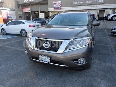 Foto venta Auto Seminuevo Nissan Pathfinder Exclusive 4x4 (2014) color Gris precio $298,000