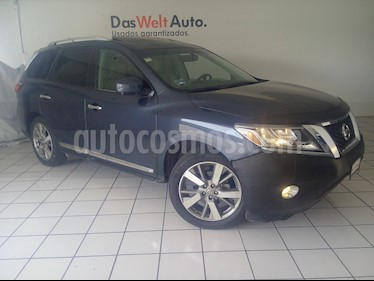 Foto venta Auto usado Nissan Pathfinder Exclusive Midnight Edition 4x4 (2016) color Azul Metalico precio $404,900