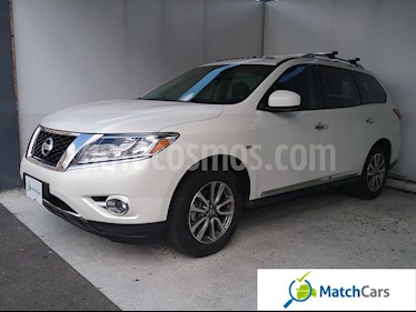 Foto venta Carro usado Nissan Pathfinder Exclusive Plus (2014) color Blanco precio $79.990.000