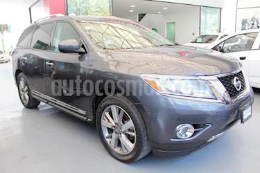 Foto venta Auto Seminuevo Nissan Pathfinder Exclusive (2013) color Gris precio $330,000