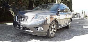 Foto venta Auto Seminuevo Nissan Pathfinder Exclusive (2013) color Gris precio $255,000