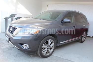 Foto venta Auto Seminuevo Nissan Pathfinder Exclusive (2014) color Azul precio $341,000