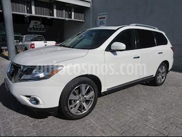 Foto venta Auto usado Nissan Pathfinder Exclusive (2013) color Blanco precio $249,900