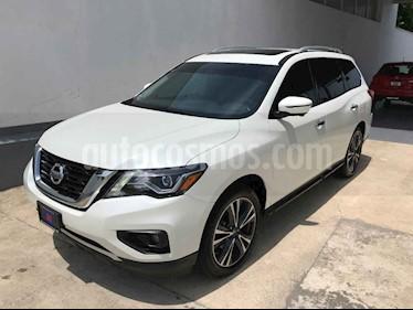 Foto venta Auto usado Nissan Pathfinder Exclusive (2018) color Blanco precio $554,000
