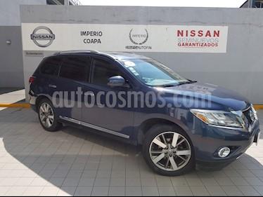 Foto venta Auto Seminuevo Nissan Pathfinder Exclusive (2014) color Azul precio $325,000