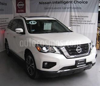 Foto venta Auto usado Nissan Pathfinder Exclusive (2019) color Blanco precio $700,000