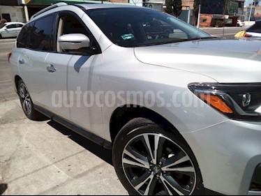 Nissan Pathfinder Exclusive usado (2017) color Plata precio $500,000
