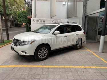 Nissan Pathfinder Exclusive usado (2013) color Blanco precio $267,000