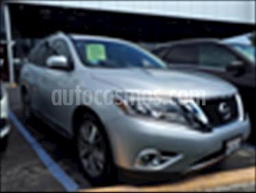 Foto Nissan Pathfinder Exclusive usado (2015) color Plata precio $345,000