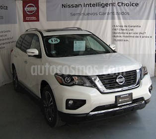 Nissan Pathfinder Exclusive usado (2018) color Blanco precio $580,000