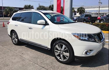 Foto venta Auto usado Nissan Pathfinder Exclusive (2015) color Blanco precio $359,000