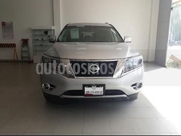 Foto venta Auto Seminuevo Nissan Pathfinder Exclusive (2014) color Plata precio $324,999