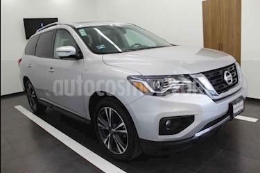 Foto venta Auto usado Nissan Pathfinder Exclusive (2017) color Plata precio $510,000