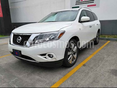 Foto venta Auto usado Nissan Pathfinder Exclusive (2014) color Blanco precio $290,000